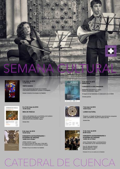 La Catedral de Cuenca organiza una Semana Cultural