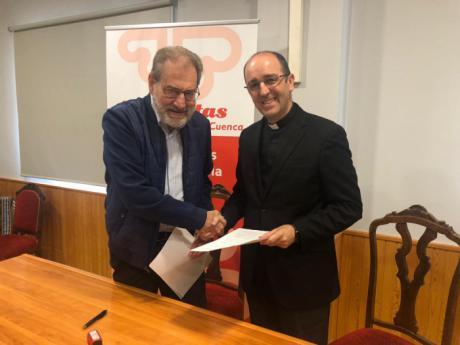El Seminario cede el uso de sus huertas a Cáritas para proyectos de familias en riesgo de exclusión social