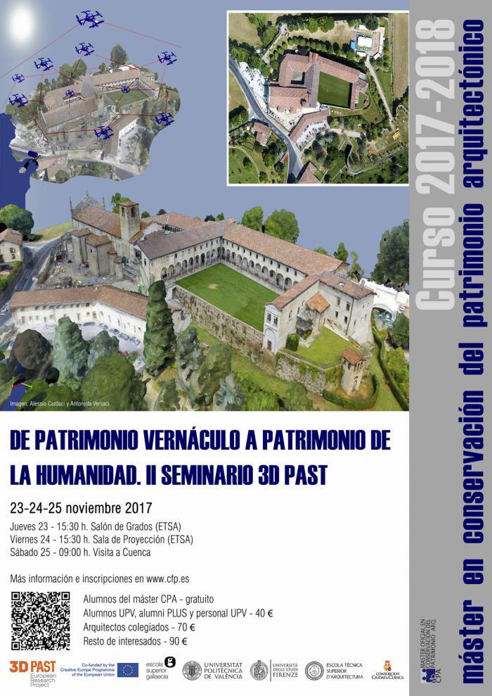El Consorcio de la Ciudad de Cuenca colabora con el Master en conservación del patrimonio arquitectónico de la Universidad Politécnica de Valencia
