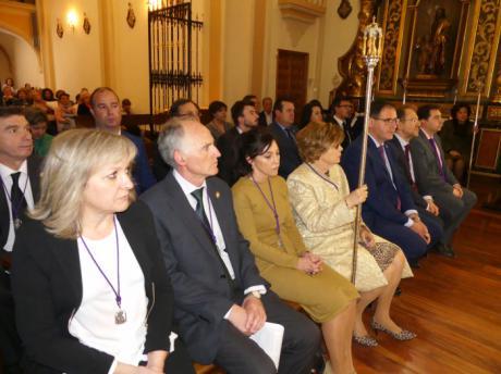 La Corporación Provincial cumple con la tradición y asiste a la función religiosa en el Santuario de las Angustias