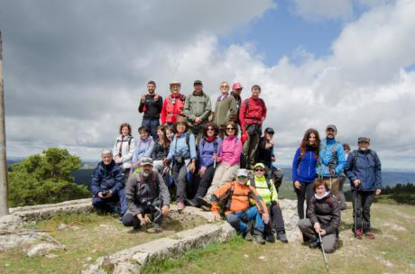 Concluye la temporada de primavera del Campus Diputación de Cuenca de Senderismo con un intenso día por Tragacete