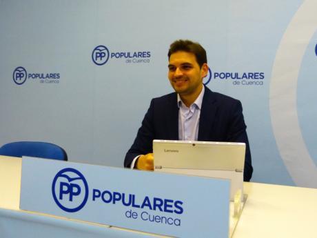 """Serrano ensalza la apuesta de Núñez por la competitividad y la modernización de las empresas """"duplicando el presupuesto de I+D+I"""""""