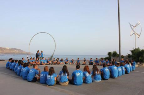 Una universitaria de Cuenca recorre Canarias con el programa solidario Ruta Siete