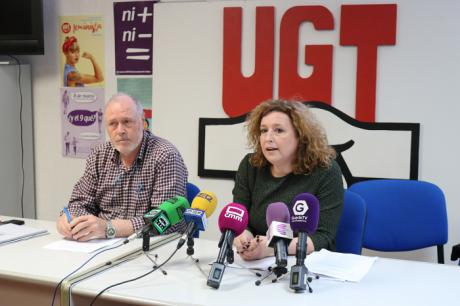 UGT denuncia el incremento en la región de la siniestralidad laboral