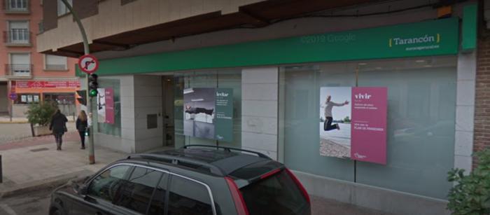 Atracan una sucursal bancaria en Tarancón