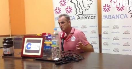 Sala de Prensa | Rafael Guijosa Castillo [ABANCA Ademar León 24 23 Ciudad Encantada]