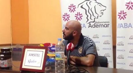 Sala de Prensa | Lidio Jiménez - [ABANCA Ademar León 24-23 Ciudad Encantada]