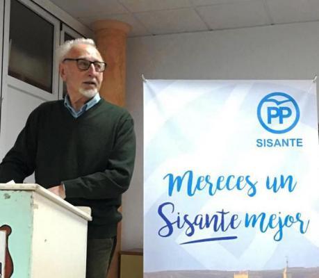 Pedro Garde será el candidato del Partido Popular a la Alcaldía de Sisante