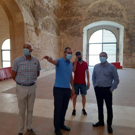Solana reclama que sigan las inversiones de las administraciones en la recuperación del Patrimonio y presenta un nuevo proyecto para la iglesia de los dominicos