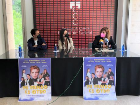 El Auditorio acoge este sábado 'Mi mundo es otro', propuesta del conquense Javier Muñoz protagonizada por Belinda Washington