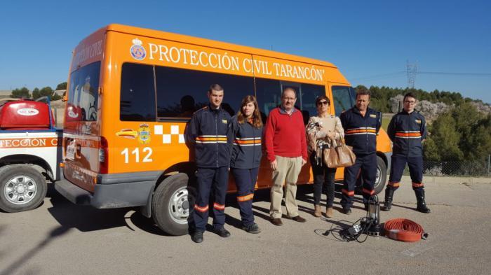 La Junta dota de nuevo material a las Agrupaciones de Protección Civil de Tarancón, Villanueva de la Jara y Minglanilla