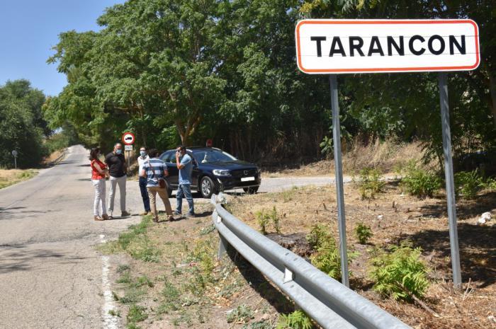 Ya esta redacto el proyecto para construir un carril peatonal entre Tarancón y la ermita de Riánsares