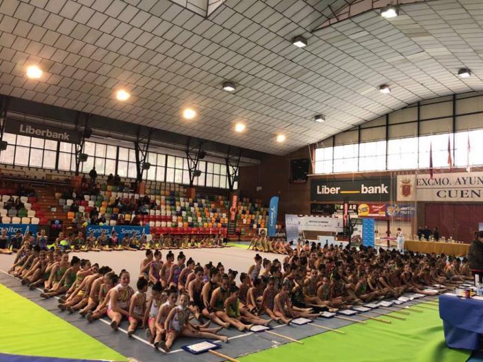 Éxitoso XX Torneo Ciudad de Cuenca de Gimnasia Rítmica