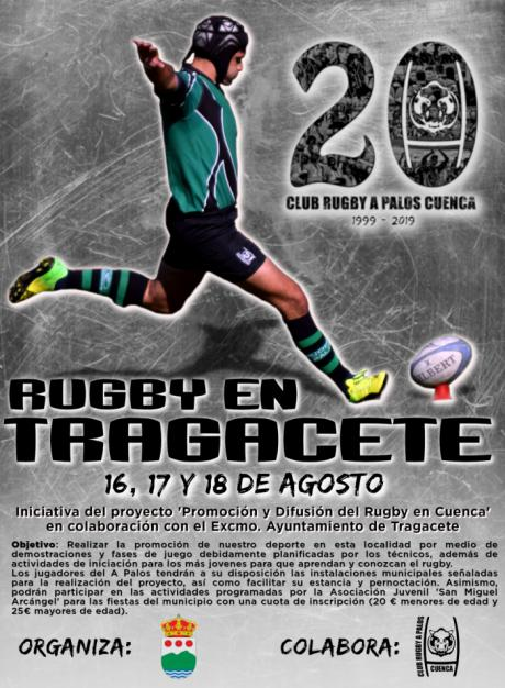 El Club Rugby A Palos lleva hasta Tragacete su 'Proyecto Difusión'