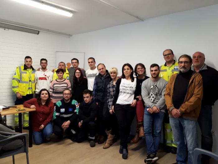 Los Técnicos de Emergencias sanitarias de Cuenca reciben formación sobre las necesidades de los pacientes en hemodiálisis