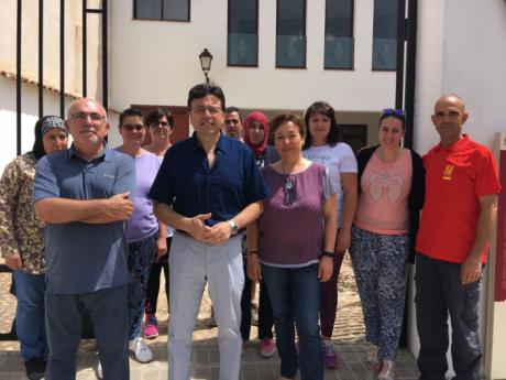 Inicio de Taller de Empleo con 8 alumnos-trabajadores en Mota del Cuervo