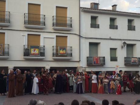 Cañete se felicita por el éxito de una nueva Alvarada medieval