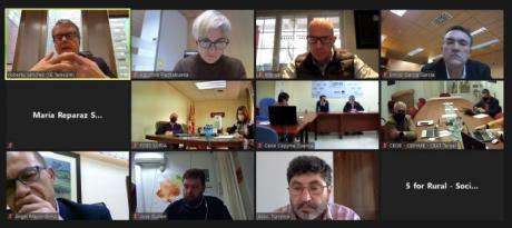 Las organizaciones empresariales de Cuenca, Soria y Teruel se reúnen con el secretario de Estado de Telecomunicaciones