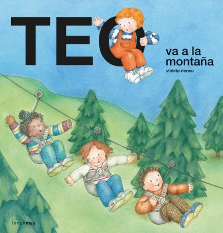 Teo va a la montaña con niños de Aldeas Infantiles SOS