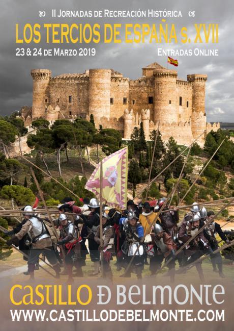 Los Tercios de España llegan al Castillo de Belmonte