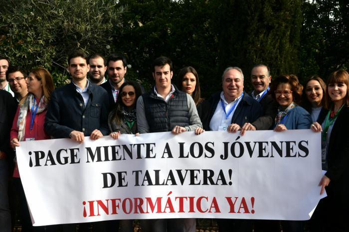 Tirado exige el Grado de Informática para Talavera ya, porque es intolerable que Page margine a esta ciudad