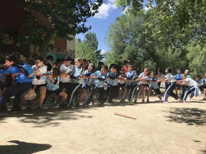 Las actividades de juegos tradicionales del Programa Somos Deporte concluyen con una participación de 1.132 alumnos