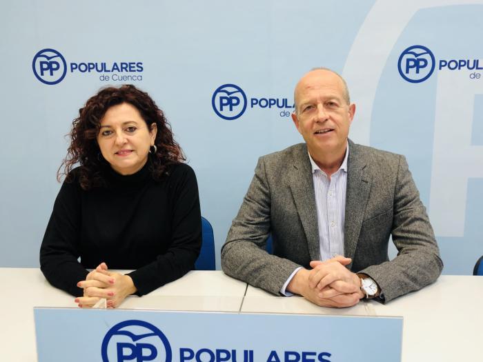 En imagen José Manuel Tortosa y Pilar Martínez