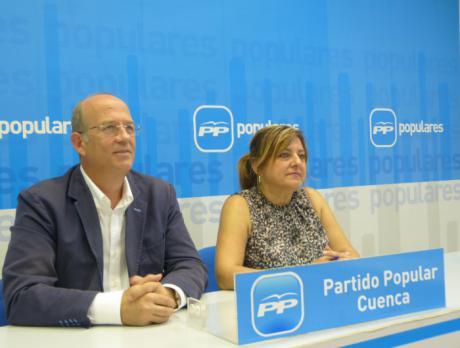 """Peñarrubia insiste en que Cuenca es """"la gran olvidada"""" de Page y pide al PSOE que respalde las enmiendas presentadas por el PP en beneficio de la provincia"""