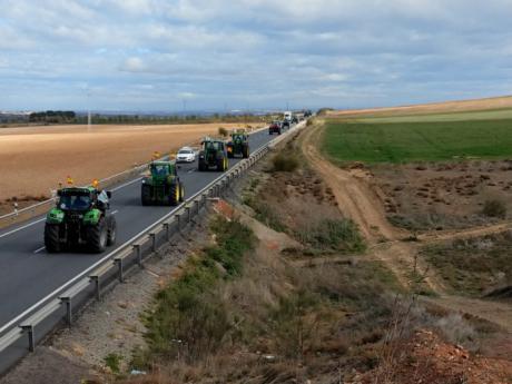 Unión de Uniones de Castilla-La Mancha y las Plataformas movilizan a los agricultores en Toledo para defender su trabajo y su futuro