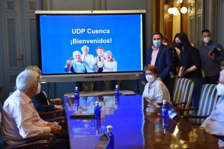 Diputación y UDP presentan un proyecto para acabar con la brecha digital entre las personas mayores