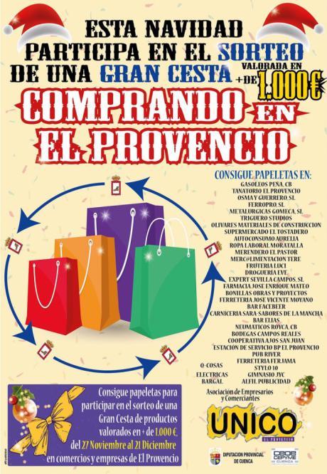 UNICO ya ha puesto en marcha su campaña de la Gran Cesta de Navidad para estas fechas