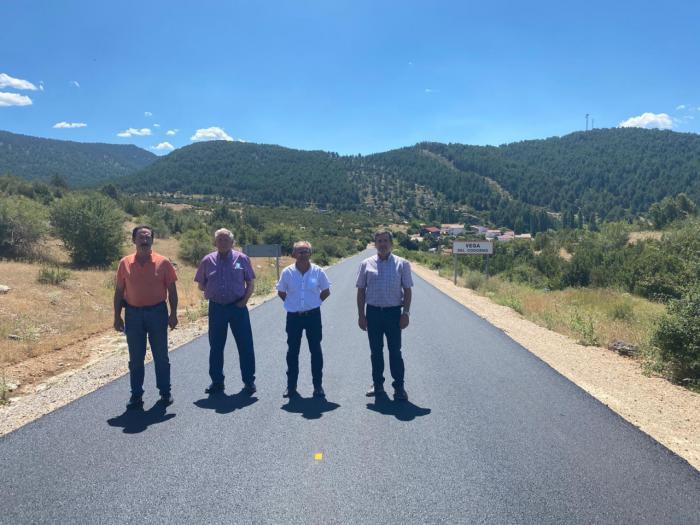 La Diputación actúa en la carretera que une Vega del Codorno y la CM-2106 con una intervención de 124.000 euros