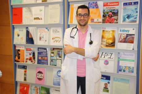 Un residente del Hospital Virgen de la Luz, premiado en el XXXVIII Congreso de la Sociedad Española de Medicina Interna