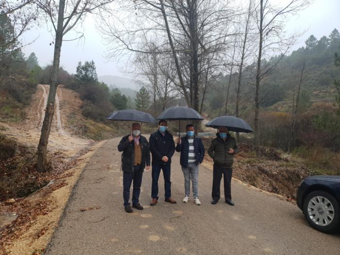 La Diputación invierte 205.604 euros para actuar en el camino que une Vindel con la provincia de Guadalajara