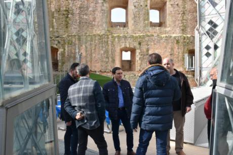 La Diputación colabora en la presentación de un total de diez proyectos para optar al 1,5 por ciento Cultural