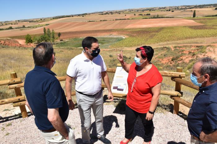 La Diputación ayudará al Ayuntamiento de La Almarcha con 50.000 euros para dotar de servicios la Vivienda de Mayores