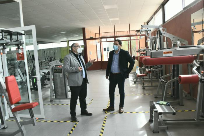 El Plan de Instalaciones Deportivas de la Diputación permite una remodelación integral del polideportivo de Montalbo