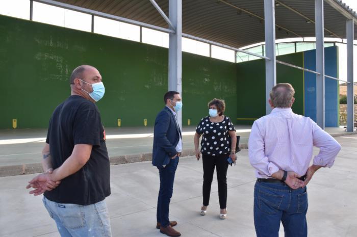 La Diputación invertirá 15.000 euros en el frontón de Olmedilla de Alarcón dentro del Plan de Instalaciones Deportivas