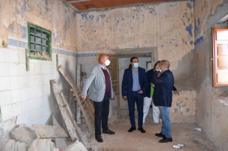 La Diputación ayuda a Pozorrubio de Santiago en la construcción de la hospedería Casa de los Portillo