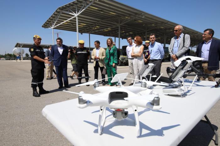González Ramos agradece la labor de la UME, durante la visita a sus instalaciones