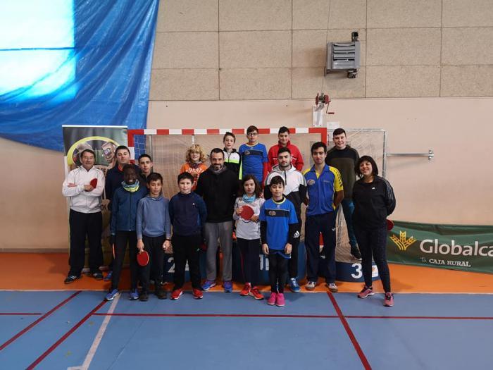 El VI Torneo de Navidad de Tenis de Mesa se lo llevó Francisco Almagro