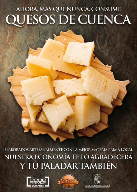 Los fabricantes de queso de Cuenca animan a consumir los productos elaborados en la provincia