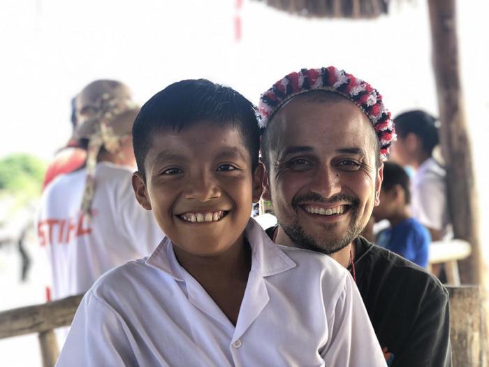 """Matías Romero: """"Tras nuestro viaje a Perú venimos con el corazón un poco más grande"""""""