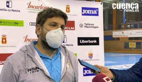 Vicent Nogués, entrenador Fertiberia Puerto Sagunto