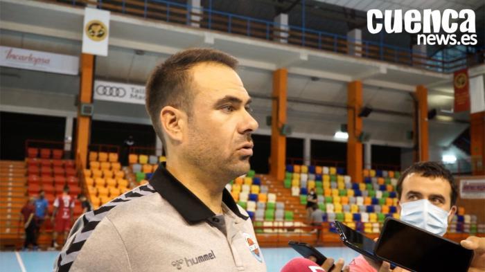 Víctor Montesinos, entrenador del Liberbank Cantabria Sinfín