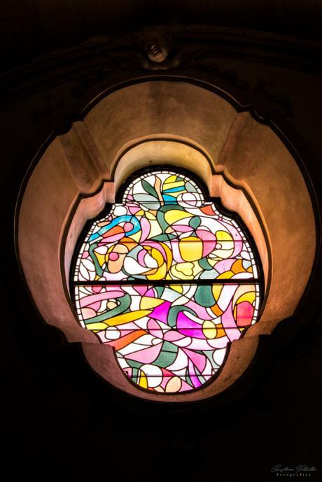 Cuenca Abstracta lamenta el fallecimiento del maestro vidriero y pintor Henri Dechanet