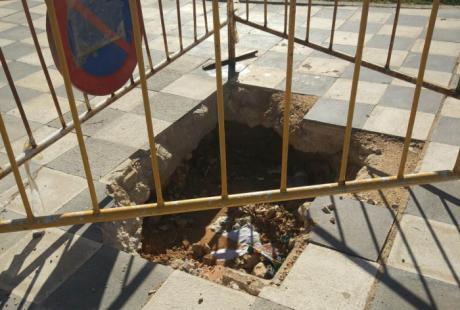 """El Grupo Municipal Socialista constata """"múltiples deficiencias"""" en el barrio de Villa Román"""