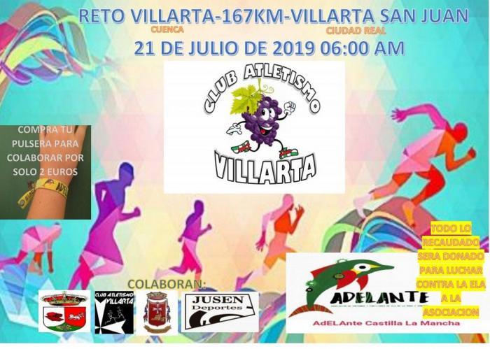 Villarta se unirán en gran reto solidario deportivo a favor de la ELA