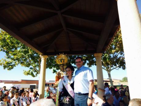 El presidente de la Diputación acompaña a los moteños en la tradicional traída de la Virgen de la Manjavacas