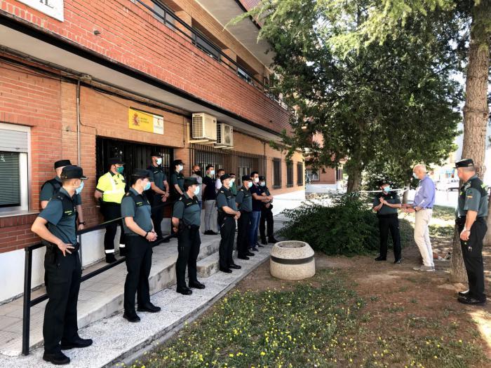 El subdelegado del Gobierno de España en Cuenca visita las tres Compañías de la Guardia Civil en la provincia